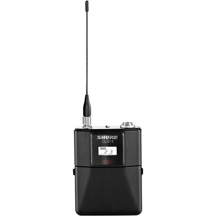 ShureQLXD1 Wireless Bodypack TransmitterH50
