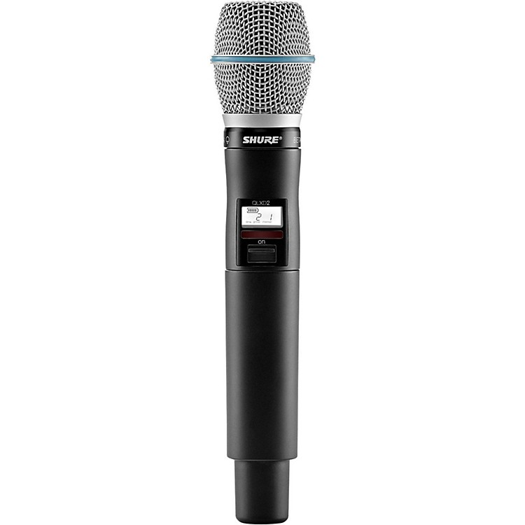 ShureQLXD2/B87C Handheld Wireless Microphone TransmitterG50470-534 MHz