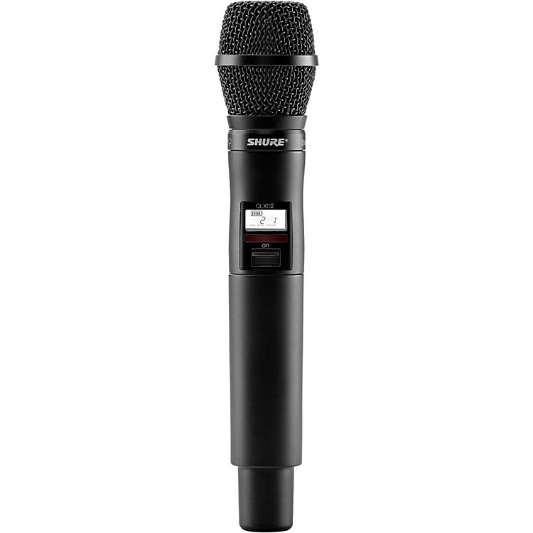Shure QLXD2/SM87 Wireless Handheld Transmitter with SM87 Microphone Band X52