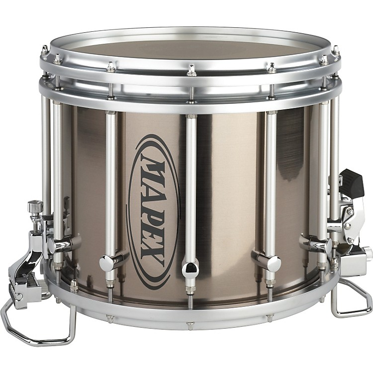 Mapex Quantum XT Snare Drum Gray Steel 14 x 12 in.