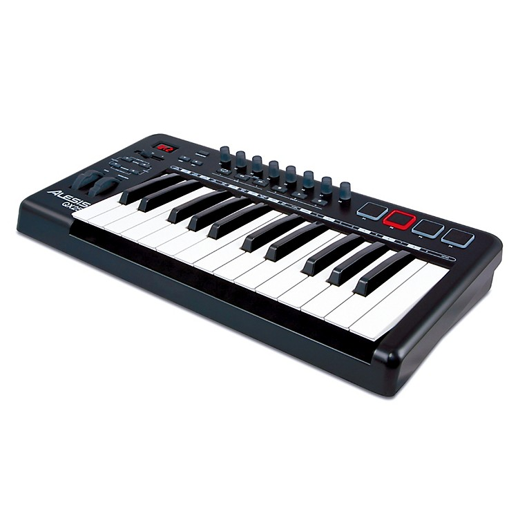 Alexis Midi Keyboard : alesis qx25 25 key advanced midi keyboard controller music123 ~ Vivirlamusica.com Haus und Dekorationen