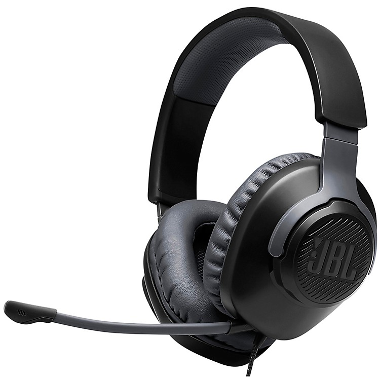 JBL Quantum 100 Gaming - Wired Over-Ear Headset Black