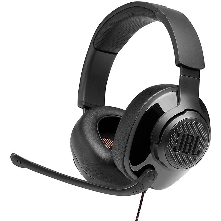 JBL Quantum 200 Gaming - Wired Over-Ear Headset Black