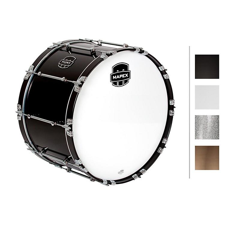MapexQuantum Bass Drum24 x 14 in.Gloss White/Gloss Chrome Hardware