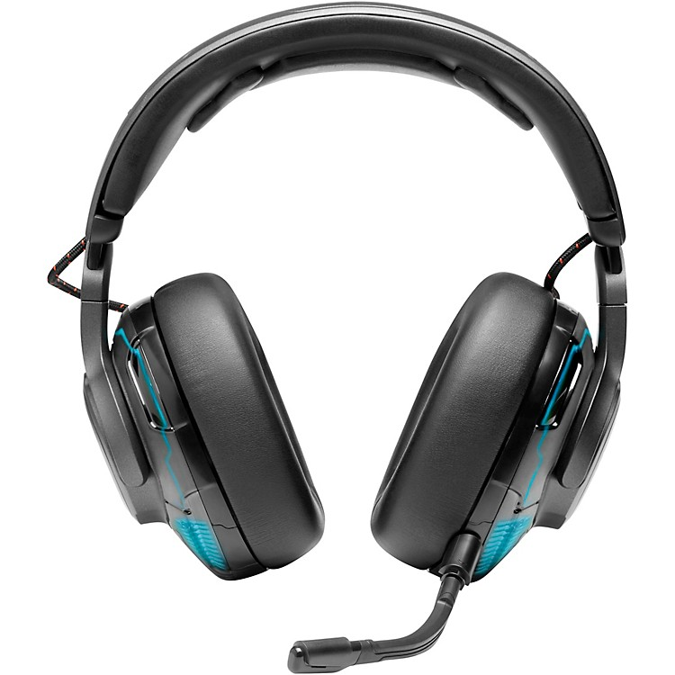 JBLQuantum One USB Wired Over-Ear Professional Gaming Headset with Head Tracking Enhanced Quantum SPHERE 360Black