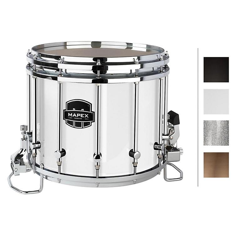 MapexQuantum XT Snare Drum14 x 12 in.Gloss White/Gloss Chrome Hardware
