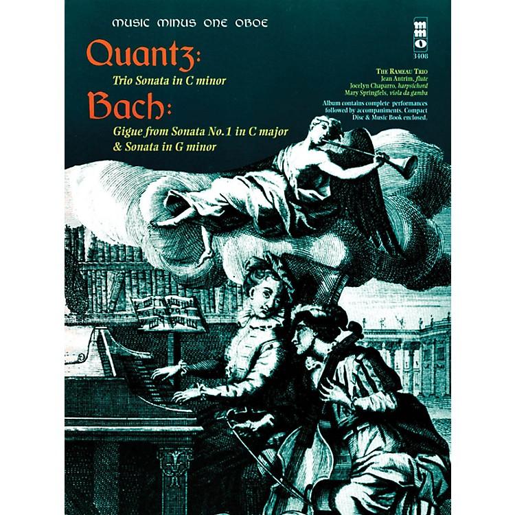 Music Minus OneQuantz - Trio Sonata in C Min Bach - Gigue from Sonata No 1 in C Maj & Sonata in G Min Music Minus One BK/CD