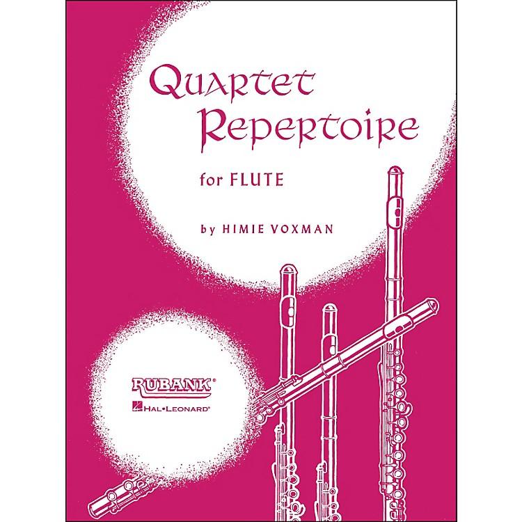 Hal LeonardQuartet Repertoire for Flute (First Flute)