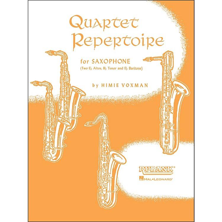 Hal LeonardQuartet Repertoire for Saxophone Second E Flat Alto