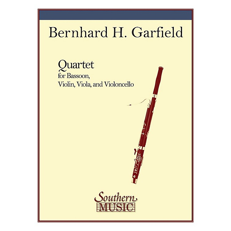 SouthernQuartet (String Trio with Bassoon) Southern Music Series Composed by Bernard Garfield