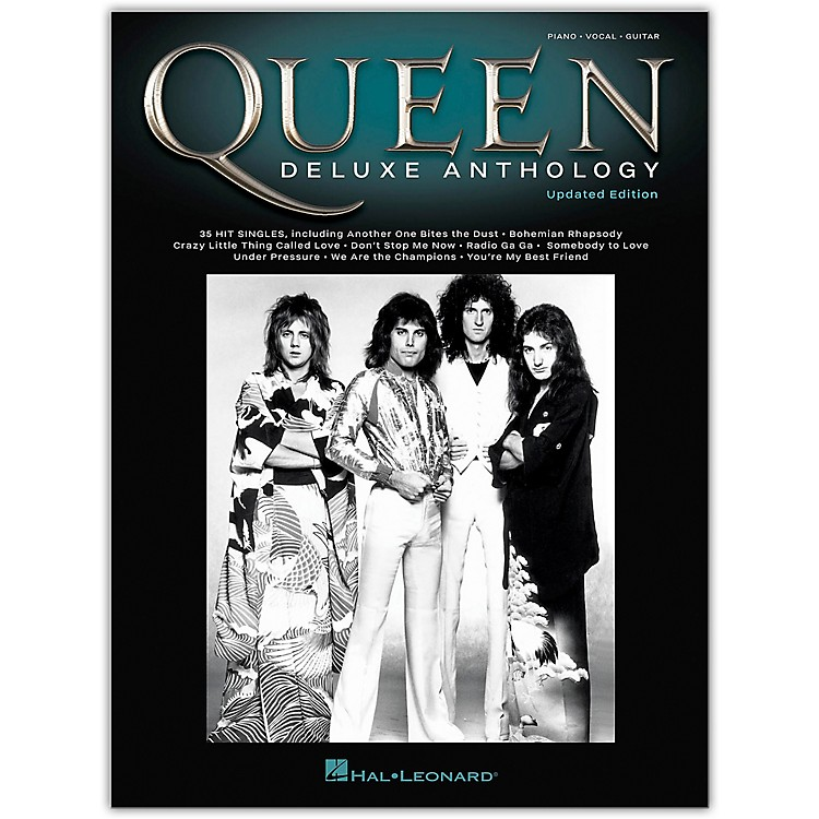 Hal LeonardQueen - Deluxe Anthology (Updated Edition) Piano/Vocal/Guitar Songbook