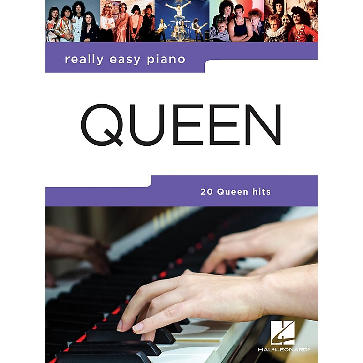 Hal LeonardQueen - Really Easy Piano Really Easy Piano Series Softcover Performed by Queen