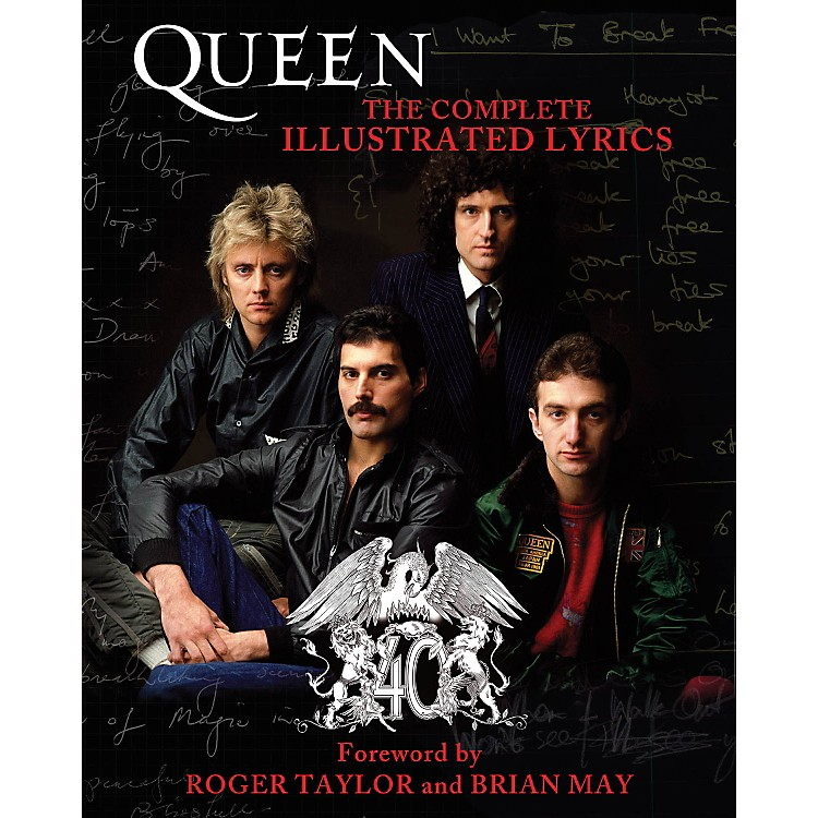Hal LeonardQueen - The Complete Illustrated Lyrics book