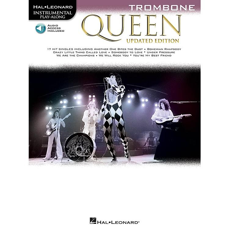 Hal LeonardQueen - Updated Edition Trombone Instrumental Play-Along Songbook Book/Audio Online