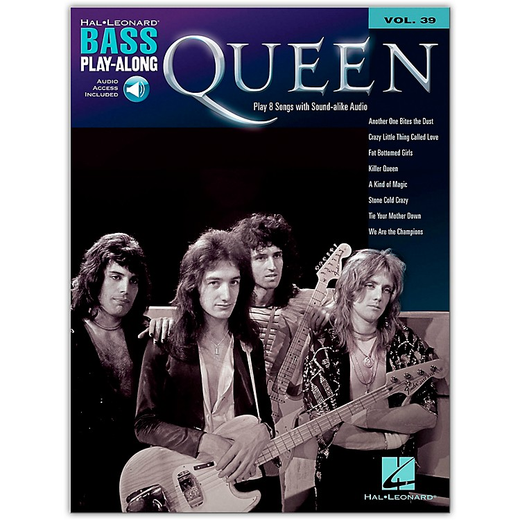 Hal Leonard Queen Bass Play-Along Volume 39 Book/Audio Online