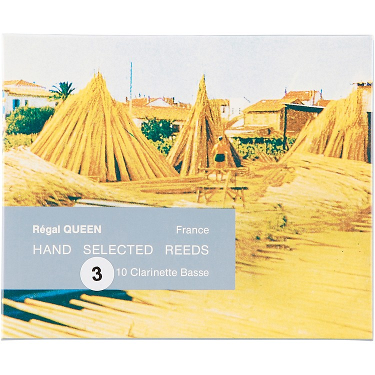 Rigotti Queen Reeds for Bass Clarinet Strength 1.5 Box of 10