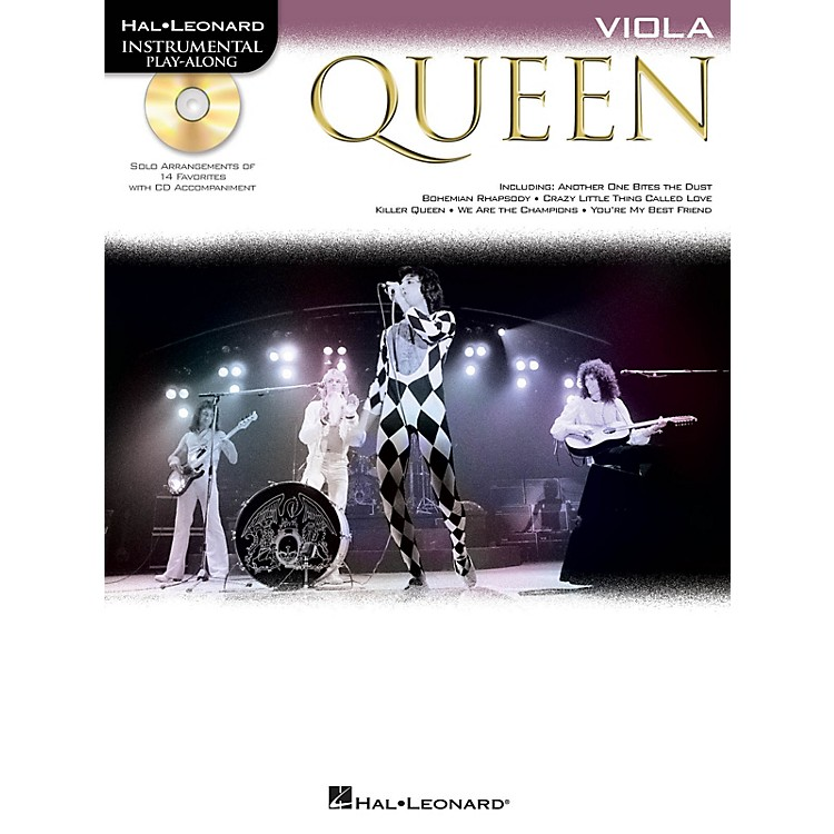 Hal LeonardQueen (Viola) Instrumental Play-Along Series Softcover with CD Performed by Queen