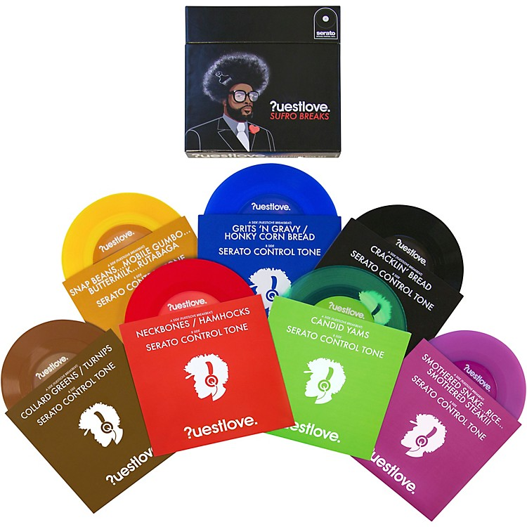 SERATOQuestlove Sufro Breaks 7 in. Timecode NoiseMap Control Vinyl Box Set
