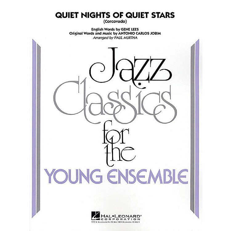 Hal Leonard Quiet Nights of Quiet Stars (Corcovado) Jazz Band Level 3 Arranged by Paul Murtha