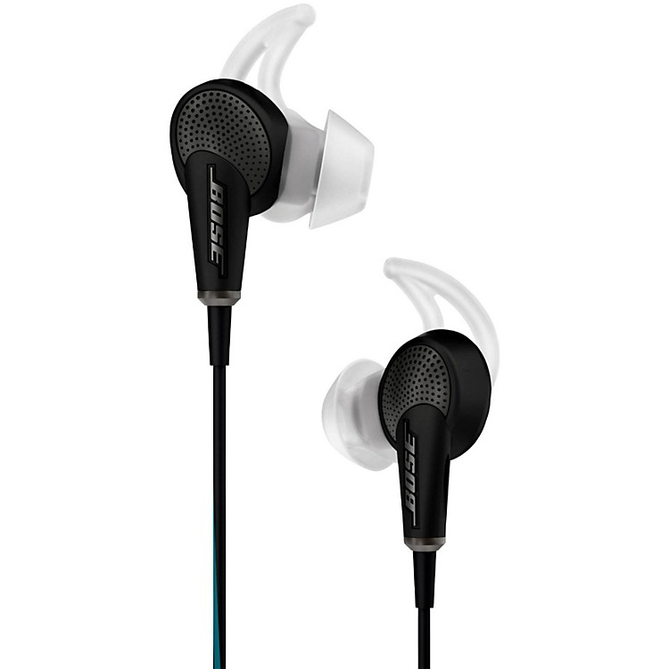 Bose QuietComfort 20 Acoustic Noise Canceling Headphones (Apple) Black