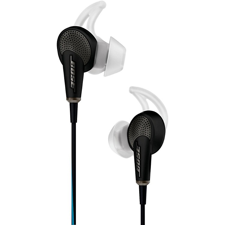Bose QuietComfort 20 Acoustic Noise Cancelling Headphones (for Samsung and Android Devices) Black