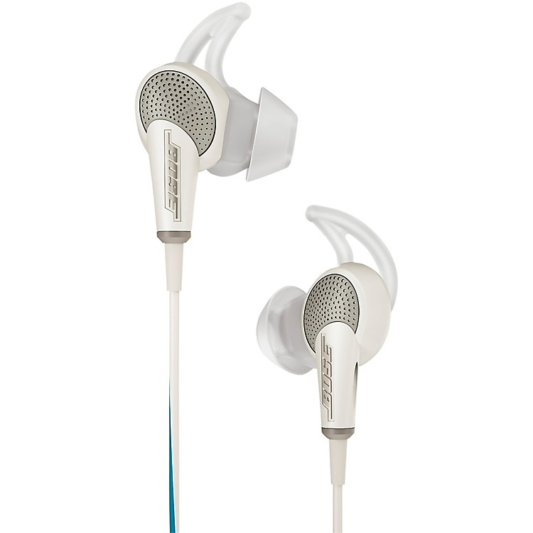 Bose QuietComfort 20 Acoustic Noise Cancelling Headphones (for Samsung and Android Devices) White
