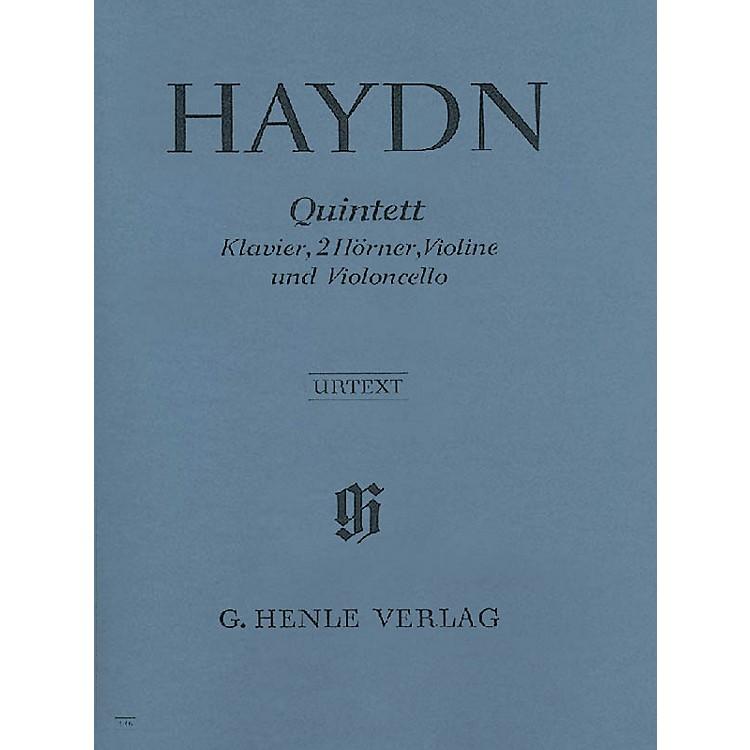 G. Henle VerlagQuintet E Flat Major Hob.XIV:1 Henle Music Folios Series Softcover by Joseph Haydn