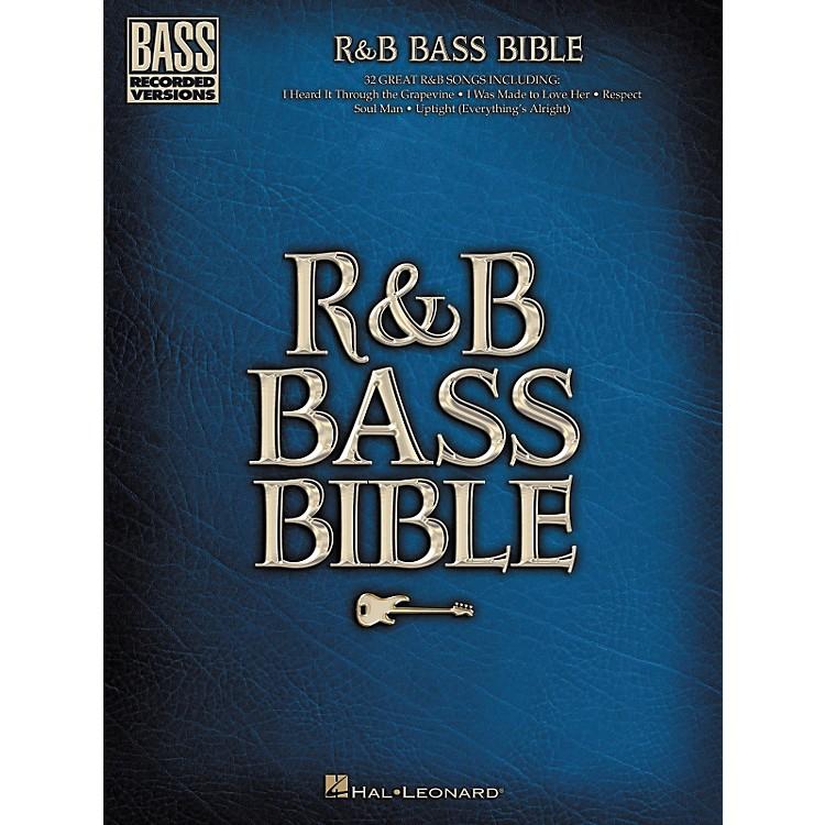 Hal LeonardR & B Bible Bass Guitar Tab Songbook