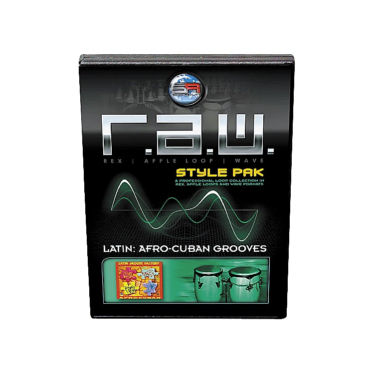 Sonic RealityR.A.W. Style Pack - Latin: Afro-Cuban Grooves Loops Collection Software