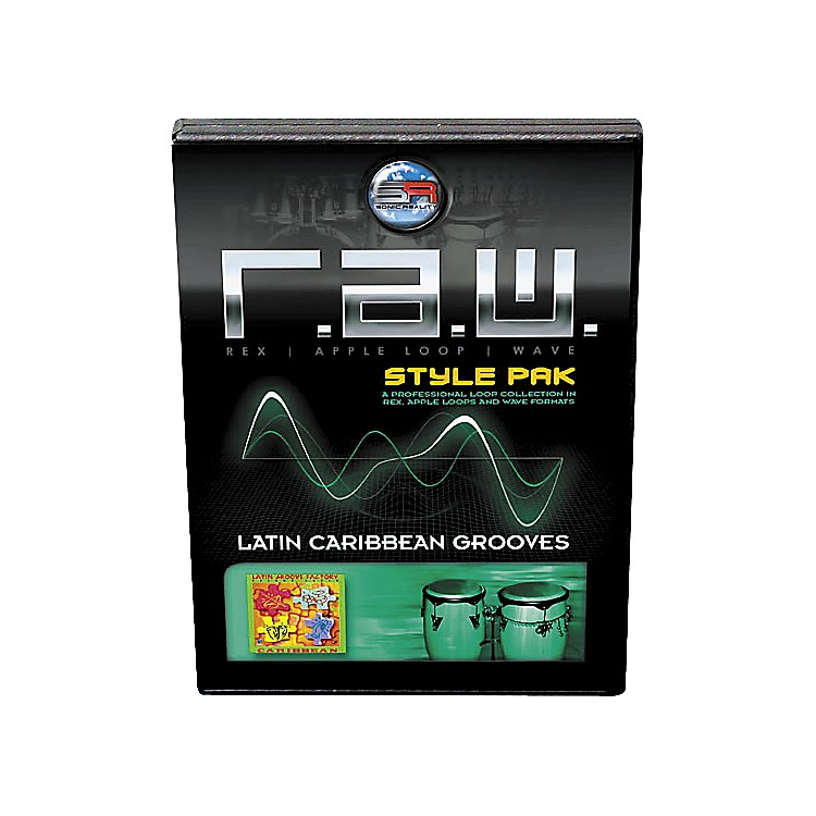 Sonic RealityR.A.W. Style Pack - Latin: Caribbean Grooves Loops Collection Software