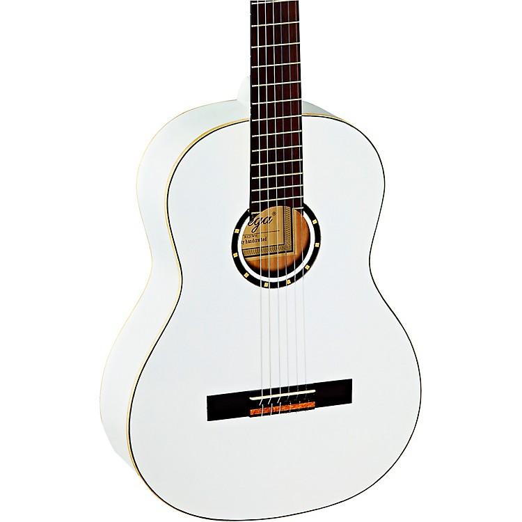 OrtegaR121WH Full-Size Family Series Classical GuitarWhite
