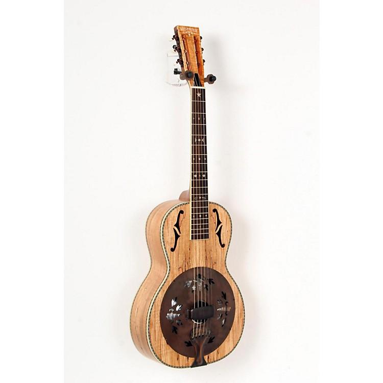 WashburnR360SMK Parlor Resonator Guitar with 1930's Style InlaySatin Natural888365714707