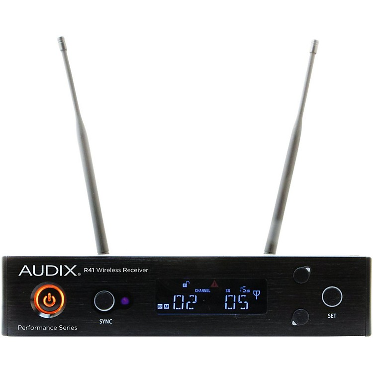 Audix R41 Single Channel Receiver 554-586 MHz
