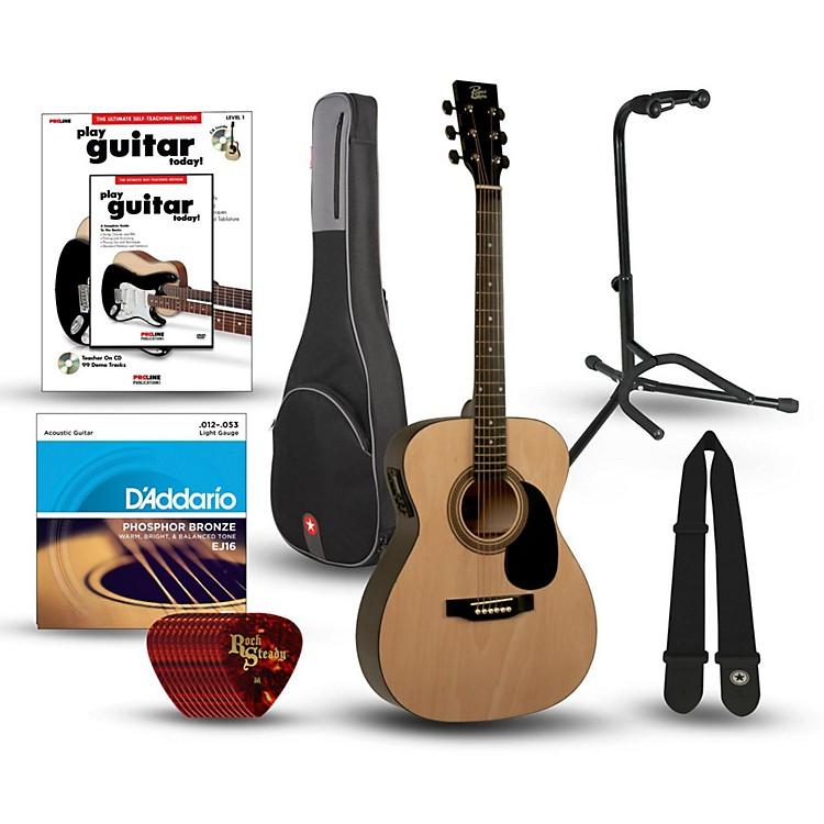 RogueRA-090 Concert Acoustic-Electric Guitar Bundle