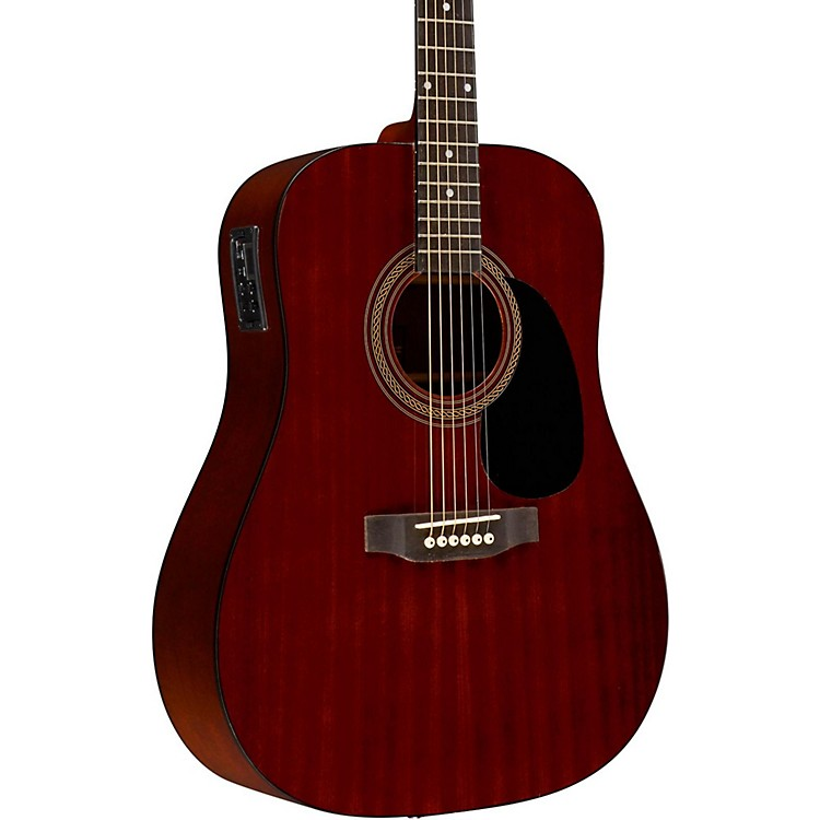 RogueRA-090 Dreadnought Acoustic-Electric Guitar Regular MahoganyNatural