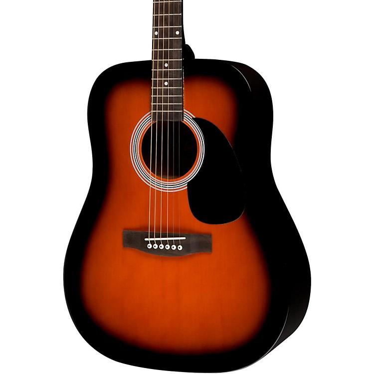 RogueRA-100D Dreadnought Acoustic GuitarSunburst