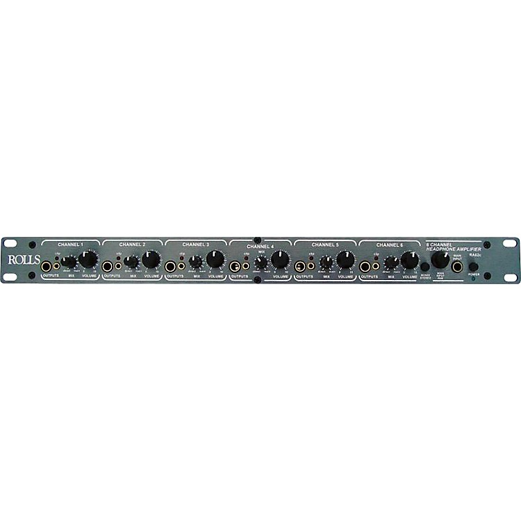 RollsRA62c 6 Channel Headphone Amp