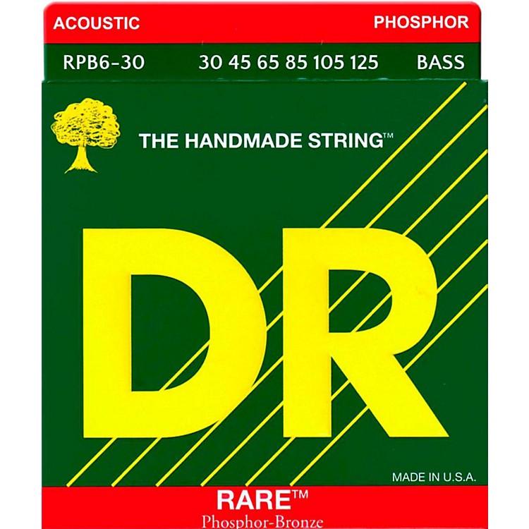DR StringsRARE Phosphor Bronze 6-String Bass Strings Medium (30-125)