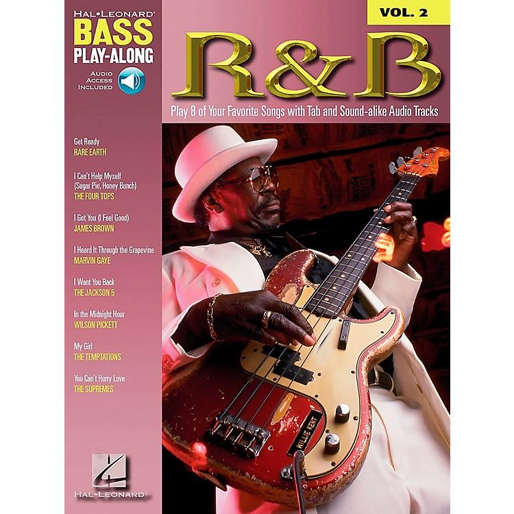 Hal LeonardR&B Bass Guitar Play-Along Series Book with CD