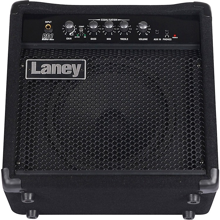 Laney RB1 Richter Bass 15W 1x8 Bass Combo Amp Black and Blue