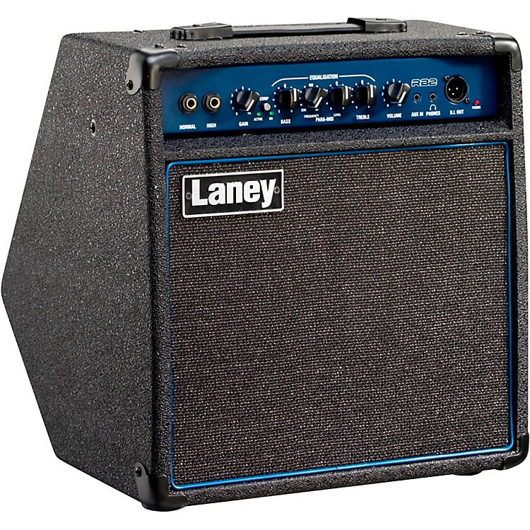 LaneyRB2 30W 1x10 Bass Combo AmpBlack and Blue