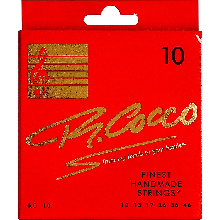 Richard CoccoRC10 Electric Guitar Strings