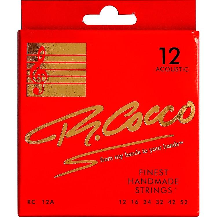 Richard CoccoRC12A Acoustic Guitar Strings
