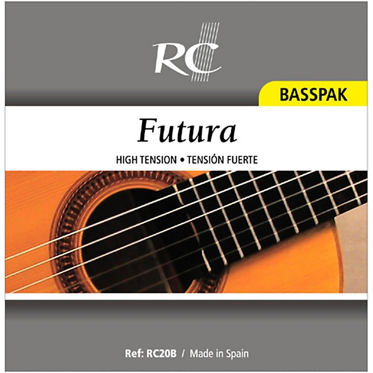 RC Strings RC20B Futura Basspak - Medium High Tension 4th, 5th and 6th Strings for Nylon String Guitar