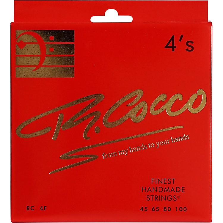 Richard CoccoRC4F 4-String Electric Bass Guitar Strings