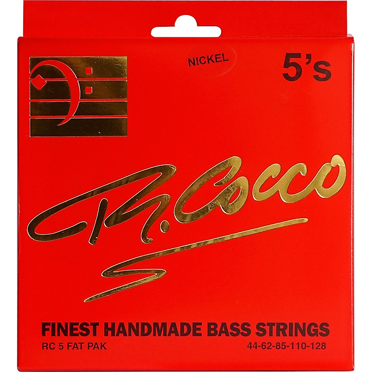 Richard CoccoRC5FATPN 5-String Nickel Electric Bass Guitar Strings