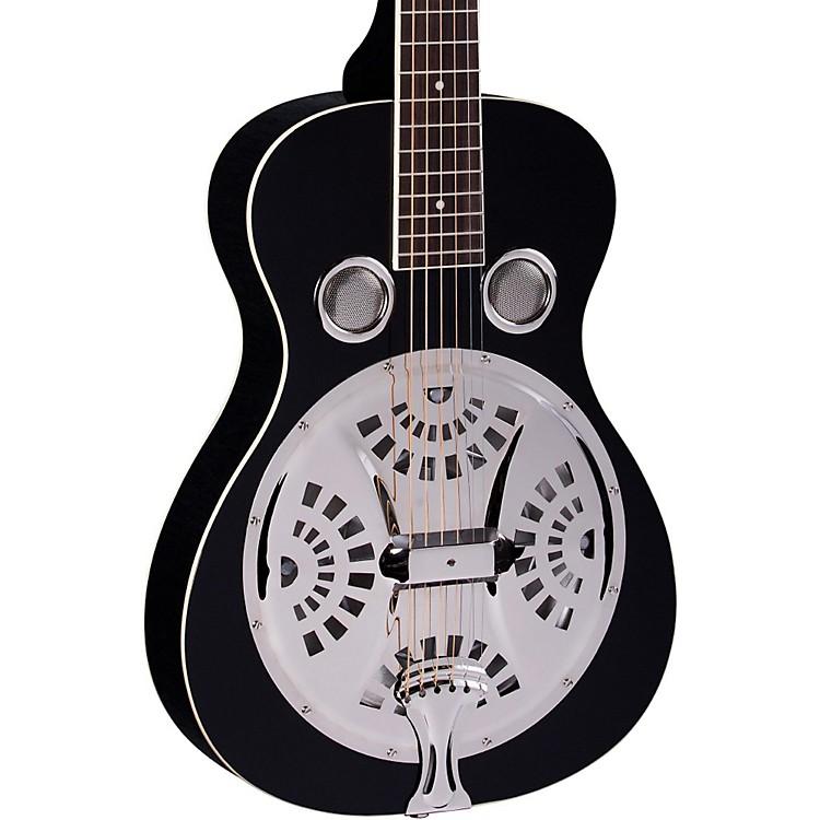 RegalRD-40S Square Neck Resonator GuitarBlack