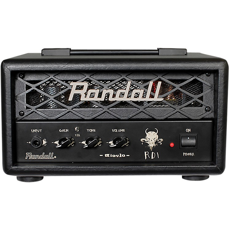 Randall RD1H Diavlo 1W Tube Guitar Head Black