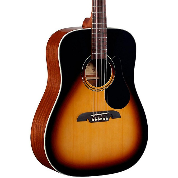 AlvarezRD26 Dreadnought Acoustic GuitarSunburst