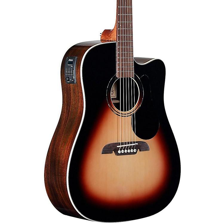 AlvarezRD280CESB Dreadnought Acoustic-Electric GuitarSunburst